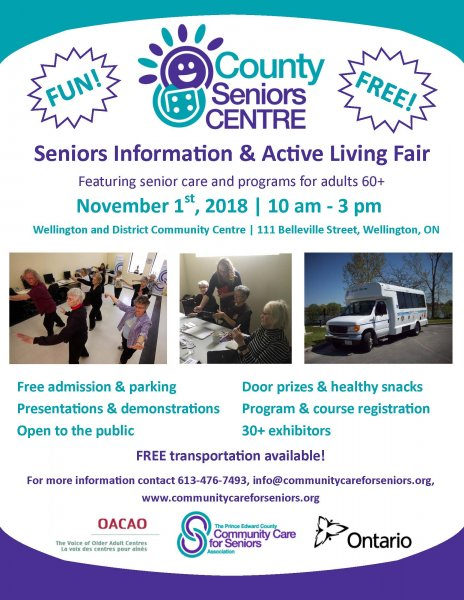 Seniors Information & Active Living Fair