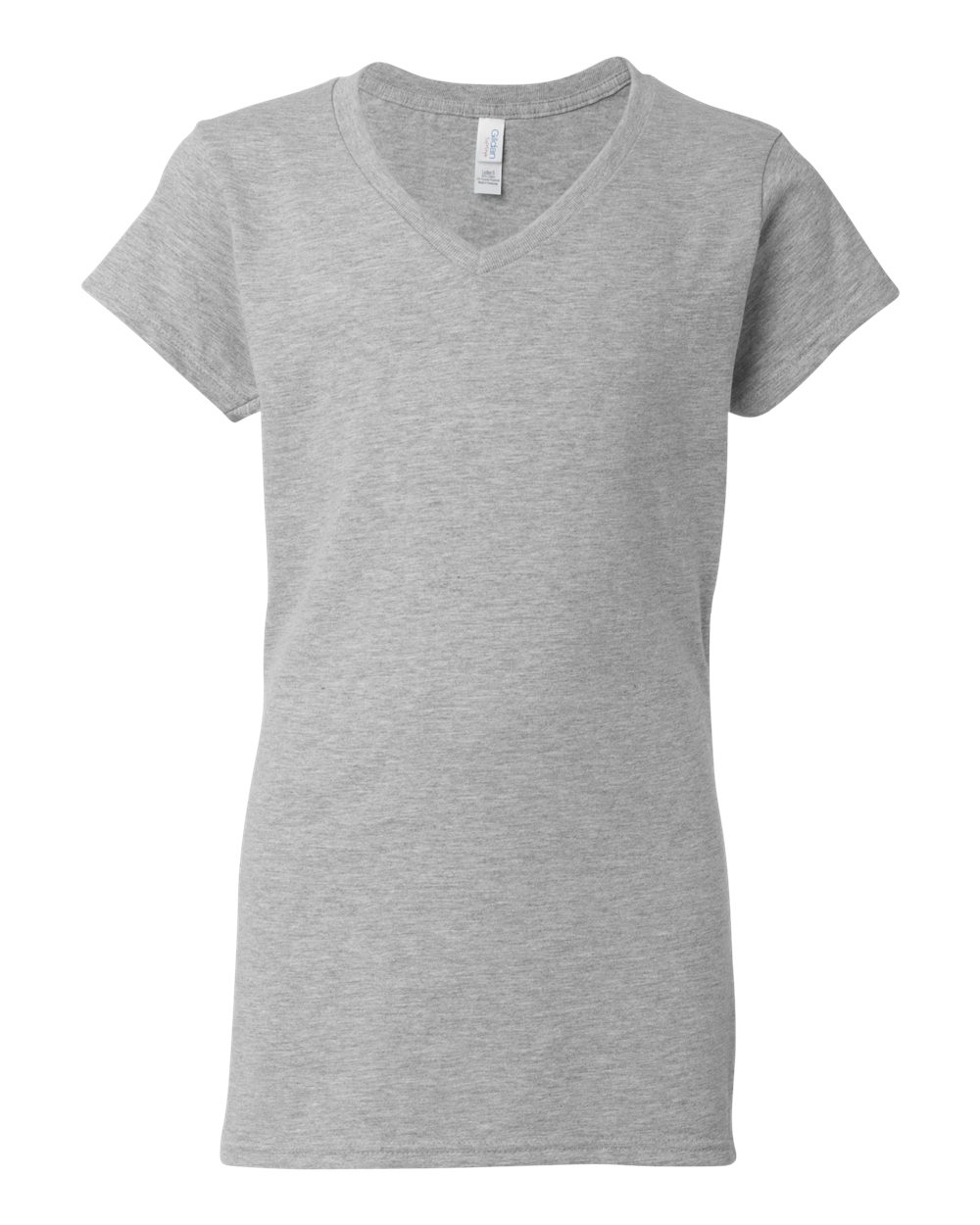 Ladies Grey V-Neck